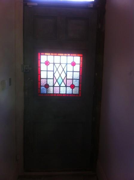 Angie front door after