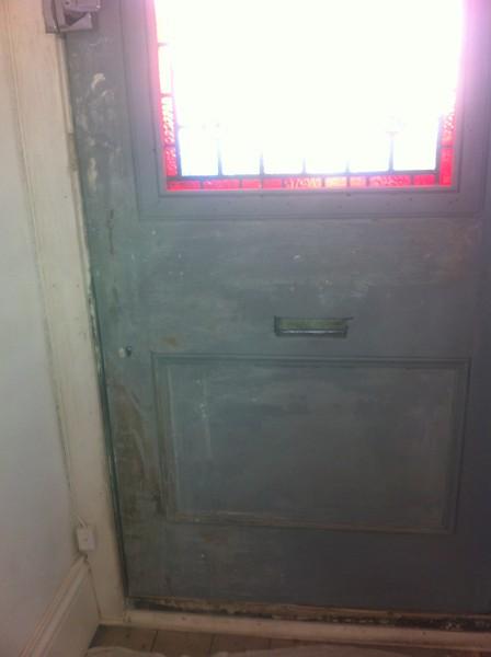Angie front door before