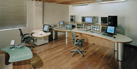 TV post production desks, Soho, W1