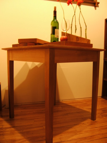 Oak dining table (3)