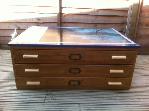 Refurbed map chest